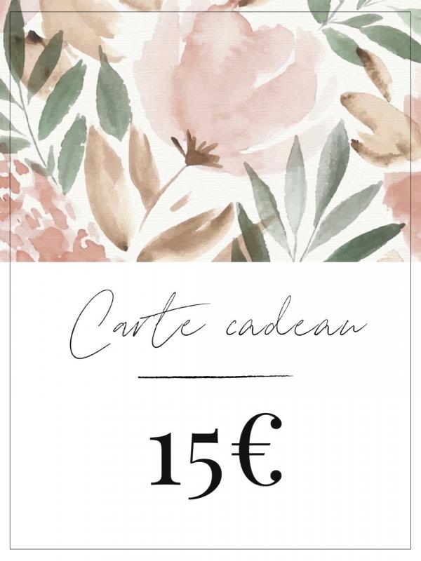 Carte cadeau créatrice française