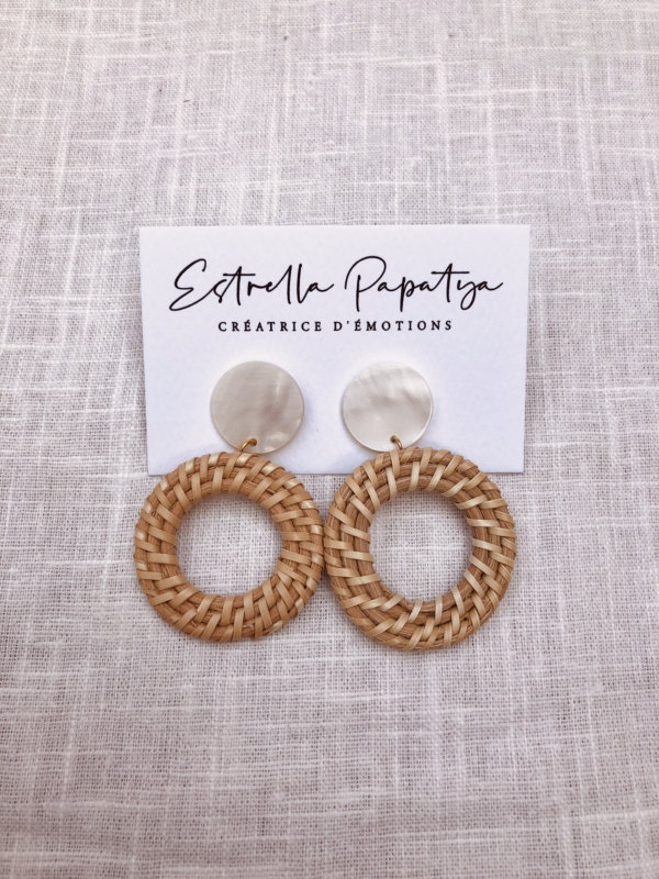Boucles d'oreilles made in France