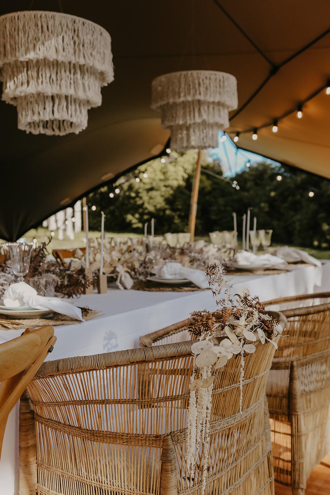 Fauteuil de cérémonie mariage